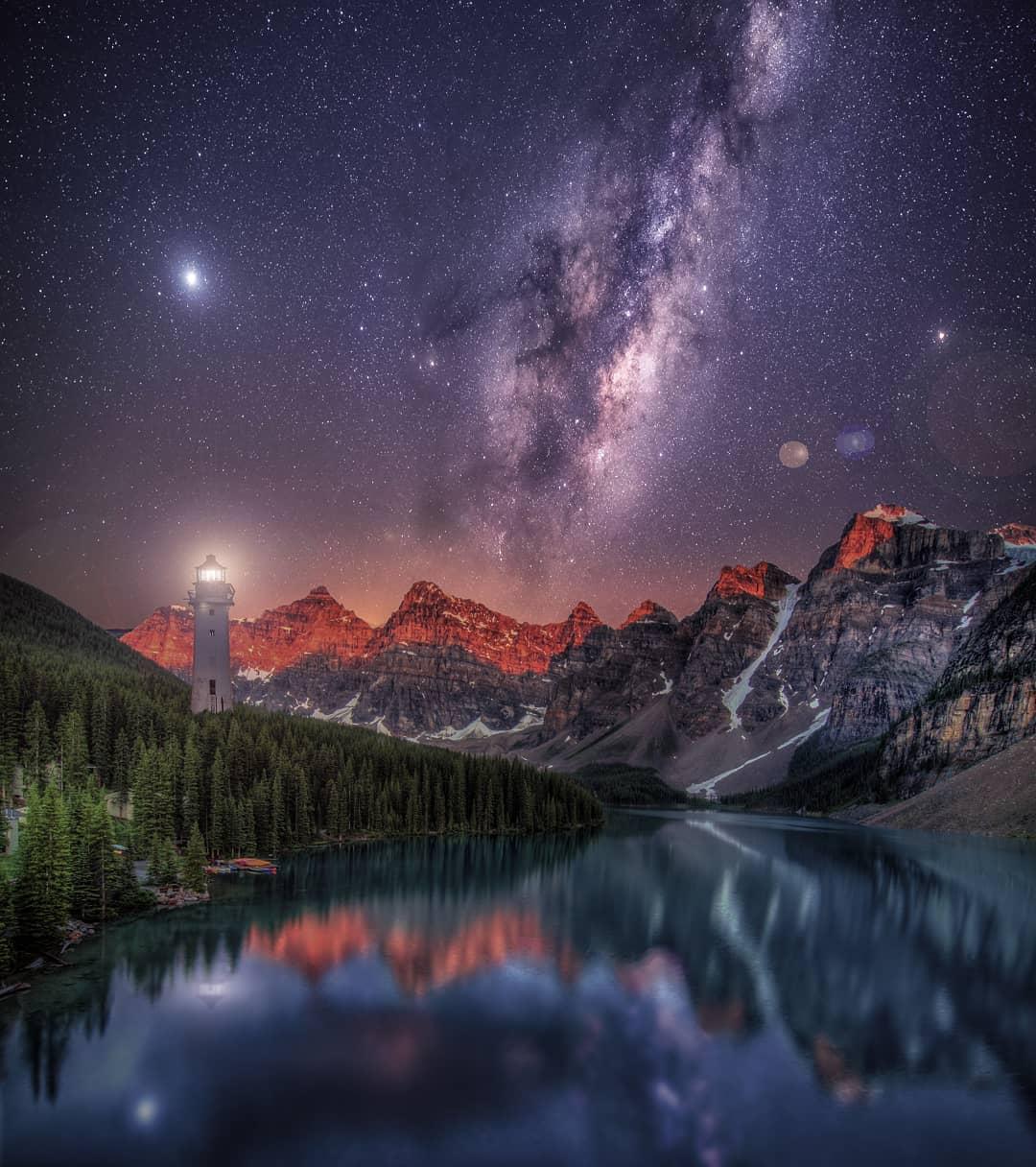 Сказочные пейзажи и туристические снимки Брента Шавнора