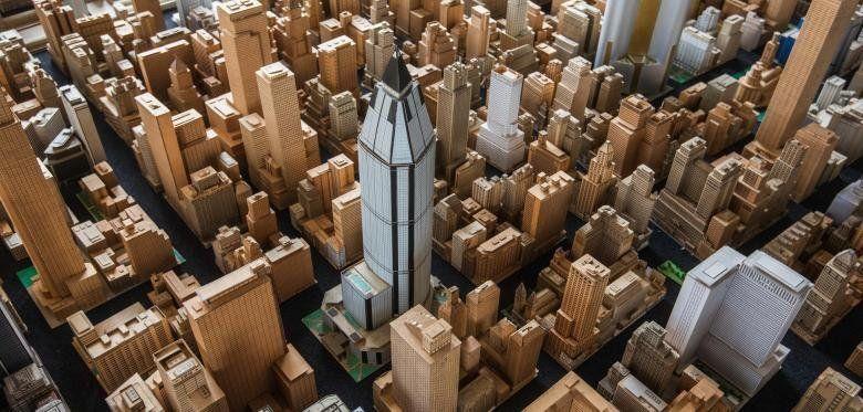 Город из бумаги