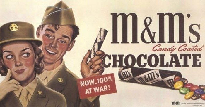 Любопытные факты о конфетах MnM'S