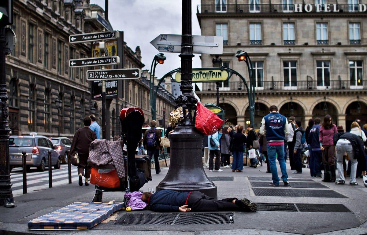 Обратная сторона Парижа