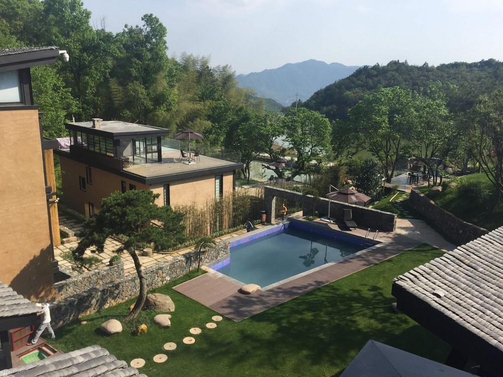Вилла на месте фермерских домов в Китае