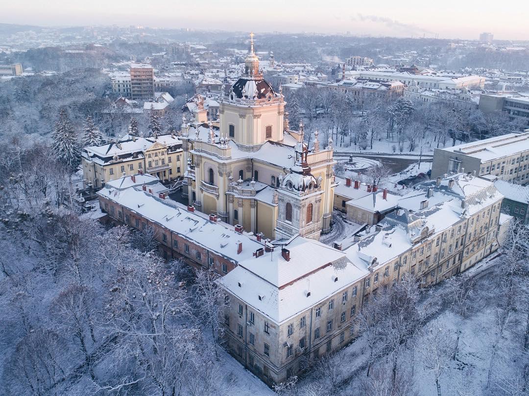 Украина с высоты на снимках Андрея Макаренко