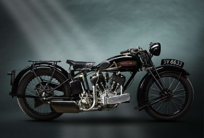 Винтажные довоенные мотоциклы