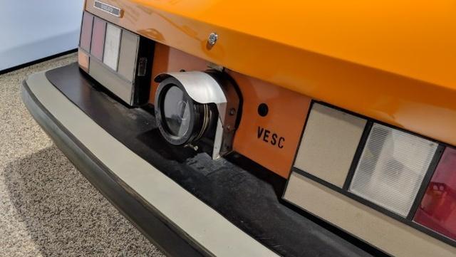 Автомобильная камера заднего вида 1972 года выпуска