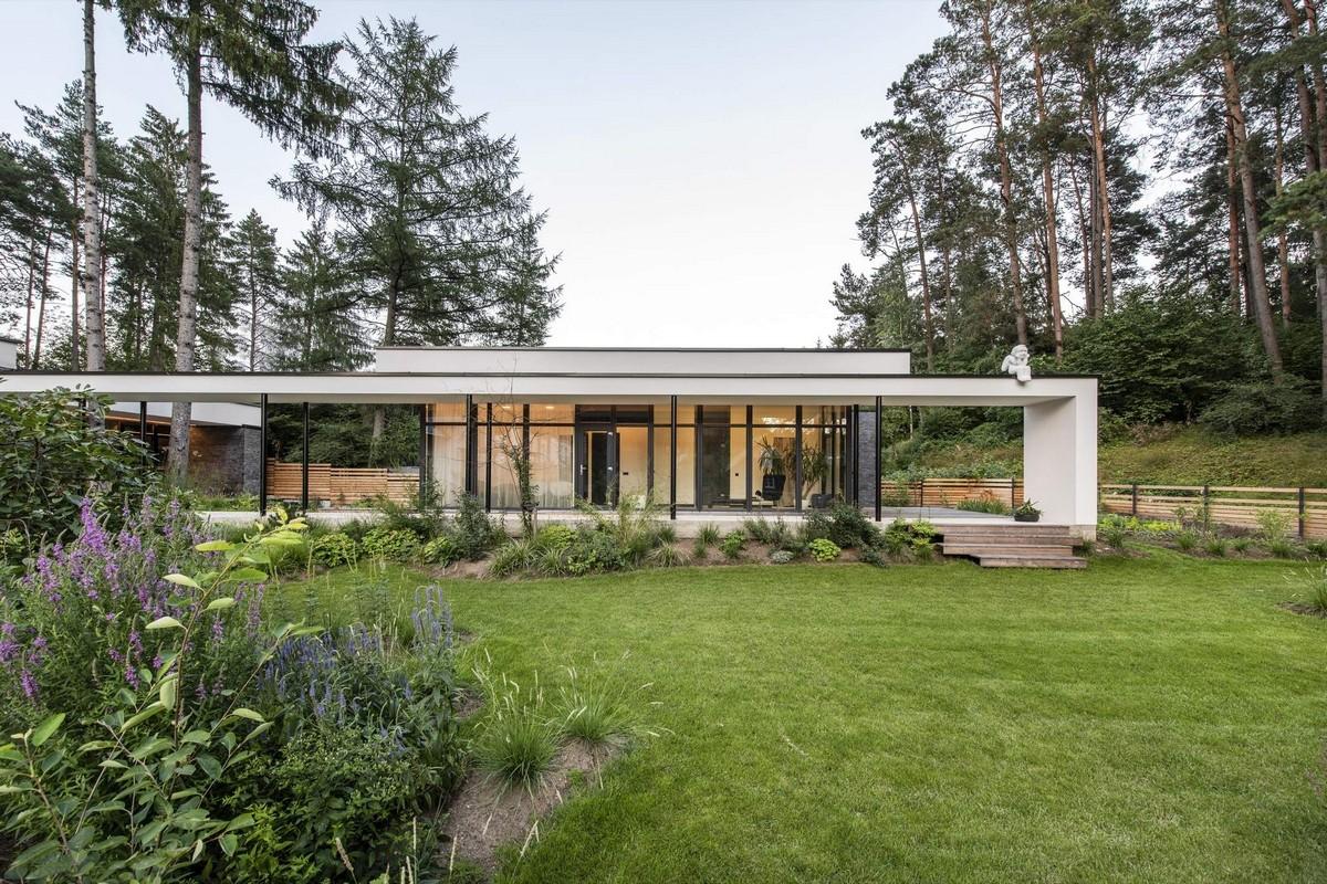 Выразительный семейный дом в окрестностях Вильнюса