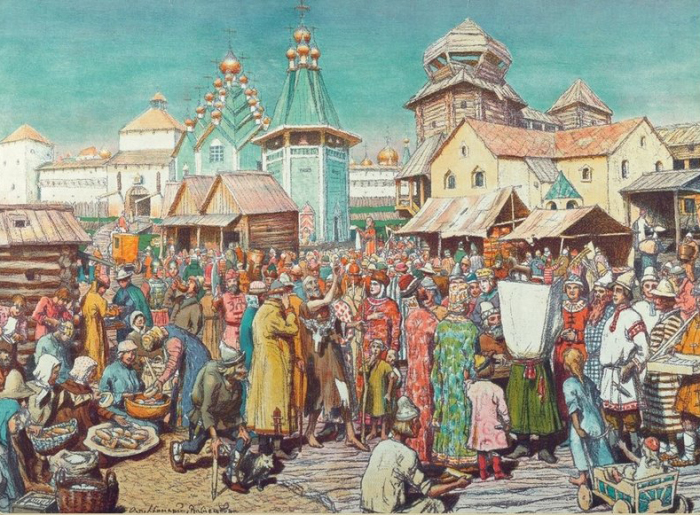 Как выглядел средневековый центр Москвы
