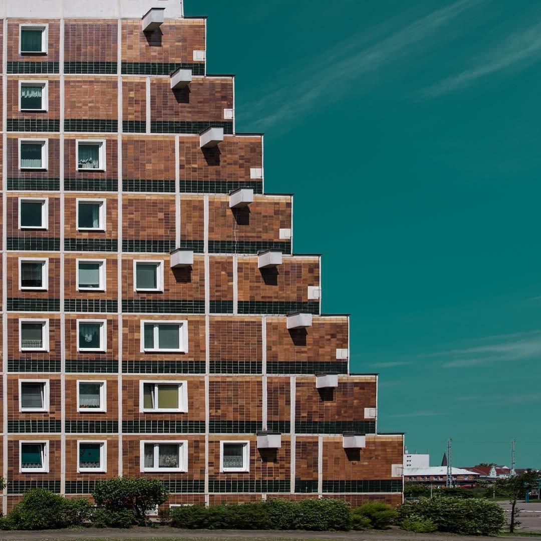 Минималистичные снимки городской архитектуры от Annie