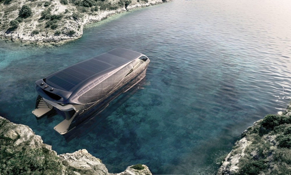 Полноценная океанская яхта на солнечной энергии