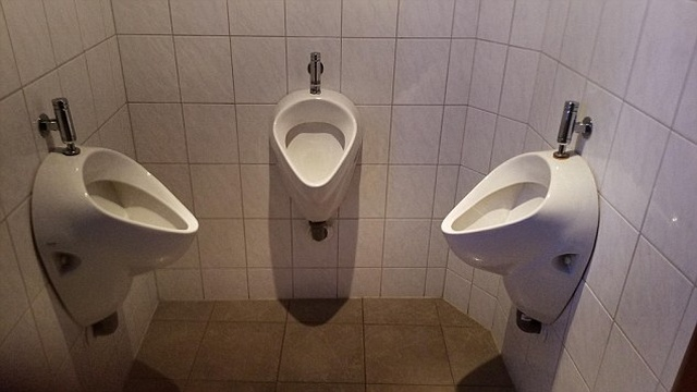 Очень странный дизайн туалетов