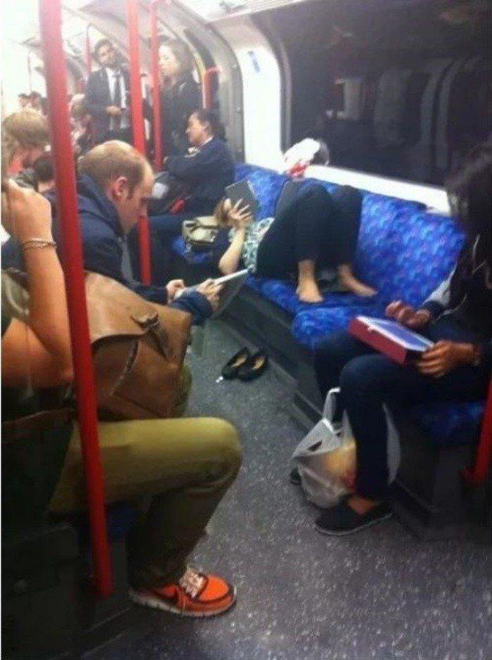 Примеры использования общественного транспорта не по назначению