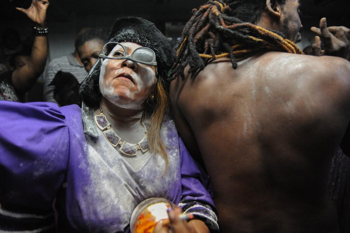 Религиозные обряды вуду в Нью-Йорке