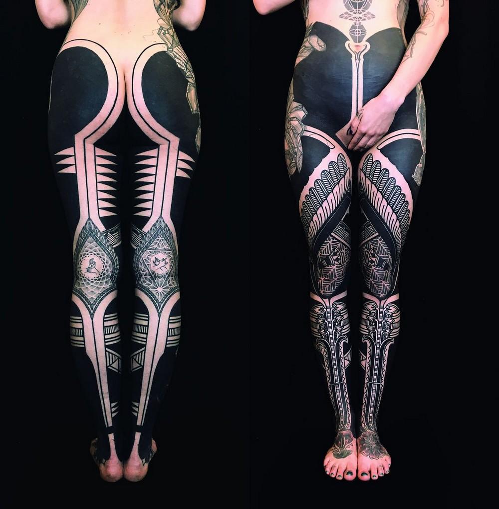 Собрание впечатляющих татуировок в книге TTT: Tattoo