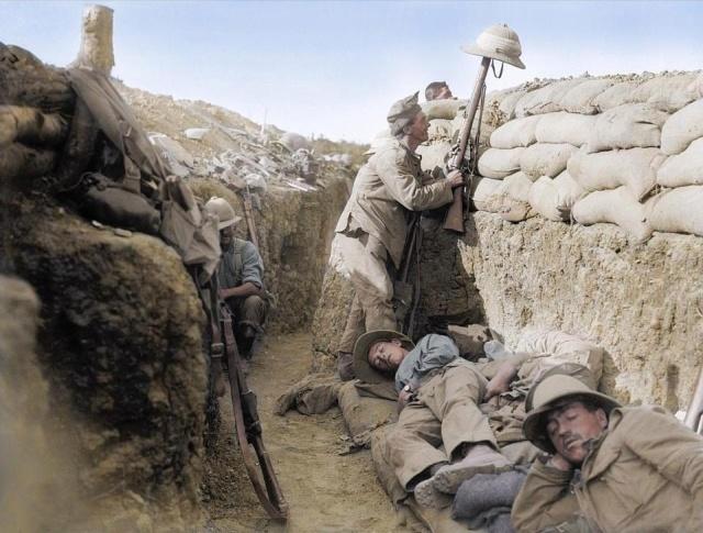 Колоризированные фотографии Первой мировой войны