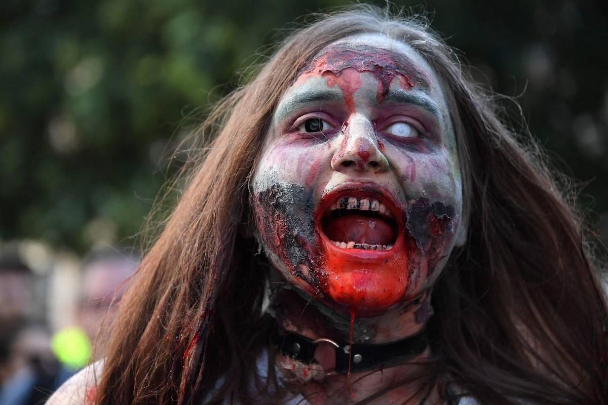 Шествие зомби во Франции