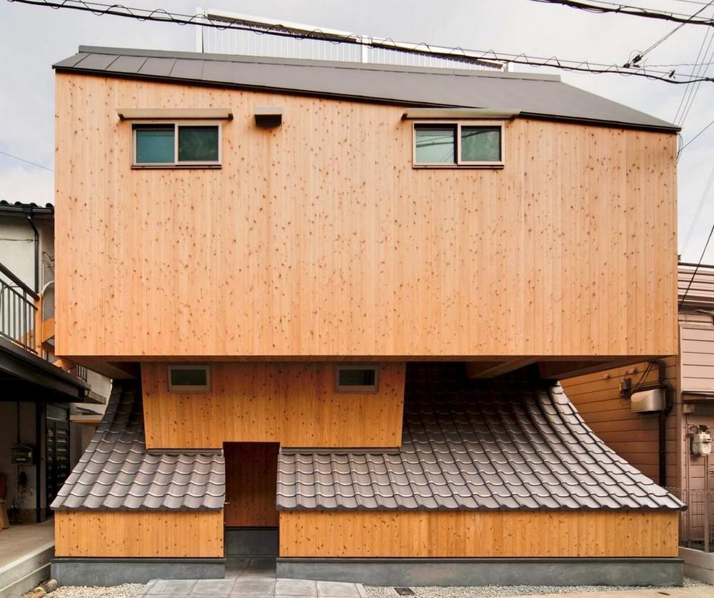 Удивительный дом Улей для развития в Японии