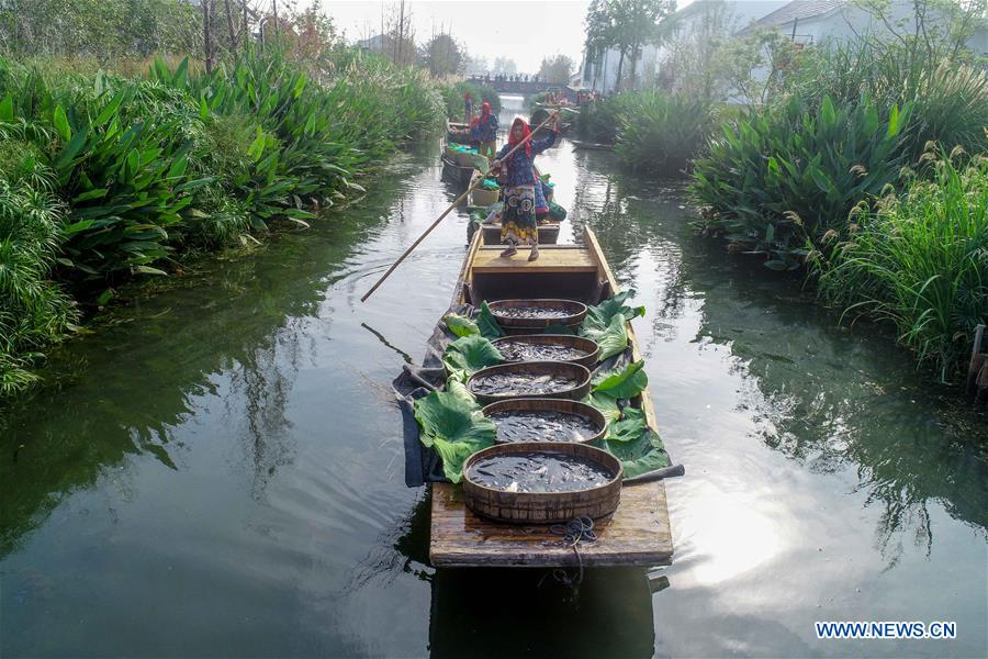 Национальный фестиваль урожая в Китае