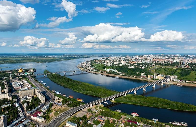 10 наиболее крупных городов России