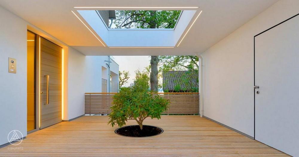 Современный дом на берегу Боденского озера в Германии