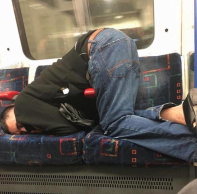 Странности в лондонском метро