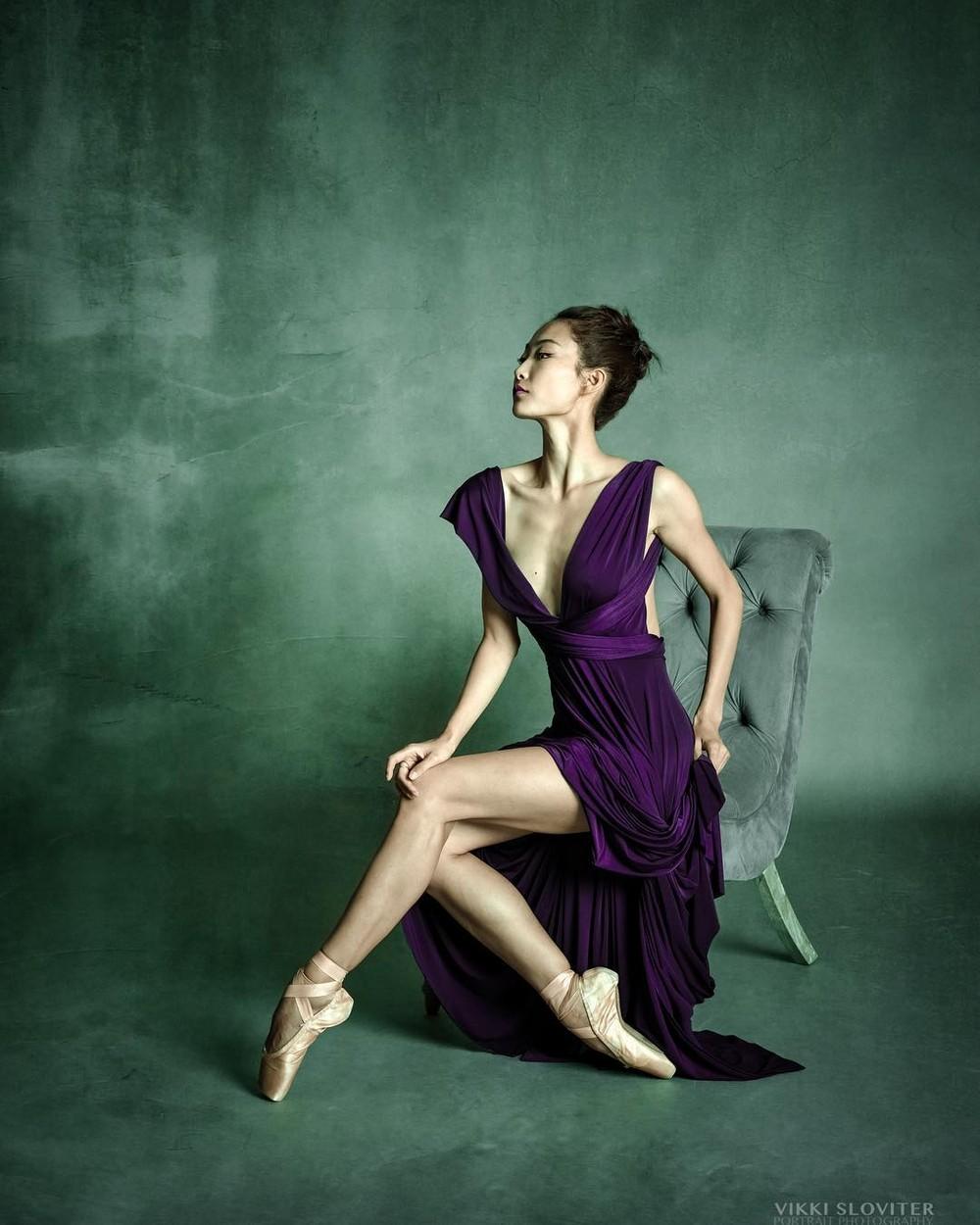 Артисты балета на фотографиях Викки Словитер