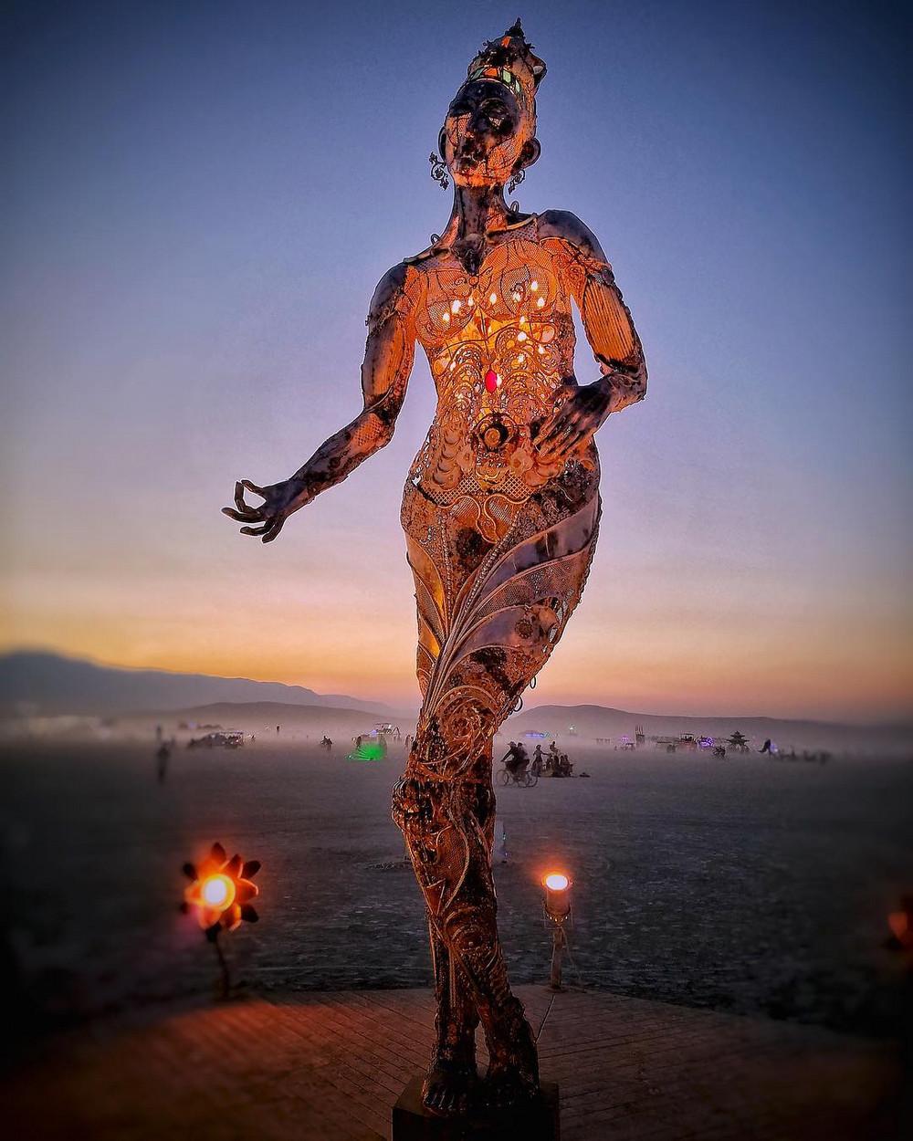 Фотоотчет с фестиваля Burning Man 2018