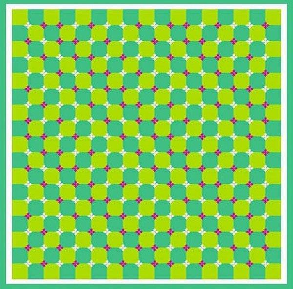 Интересные и необычные оптические иллюзии