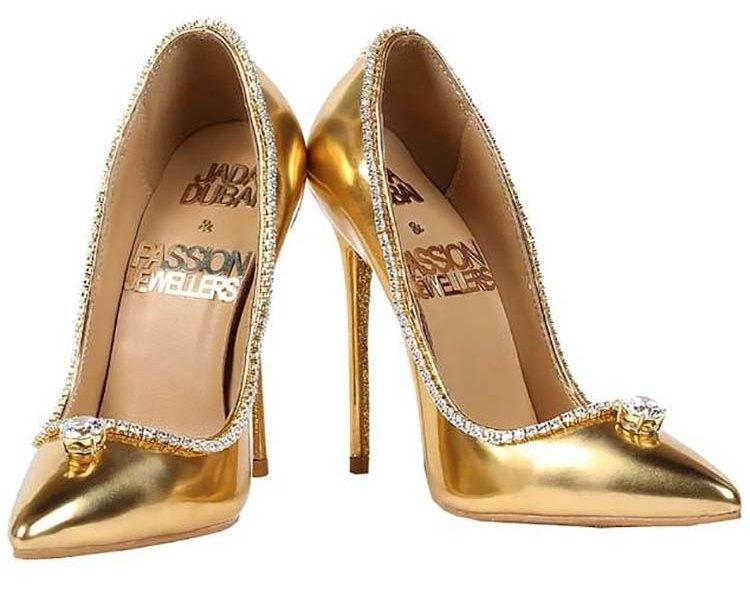 В Дубае продают пару туфель за 17 миллионов долларов