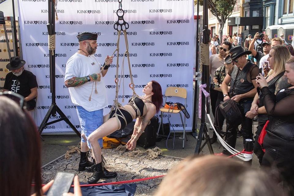 БДСМ-фестиваль Folsom Street Fair в Сан-Франциско