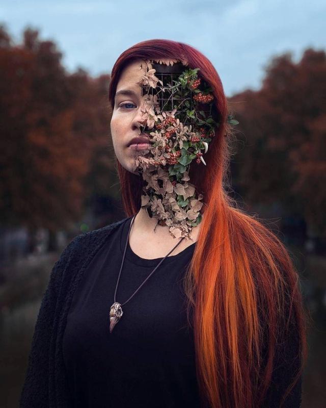 Крутые работы настоящих мастеров фотошопа