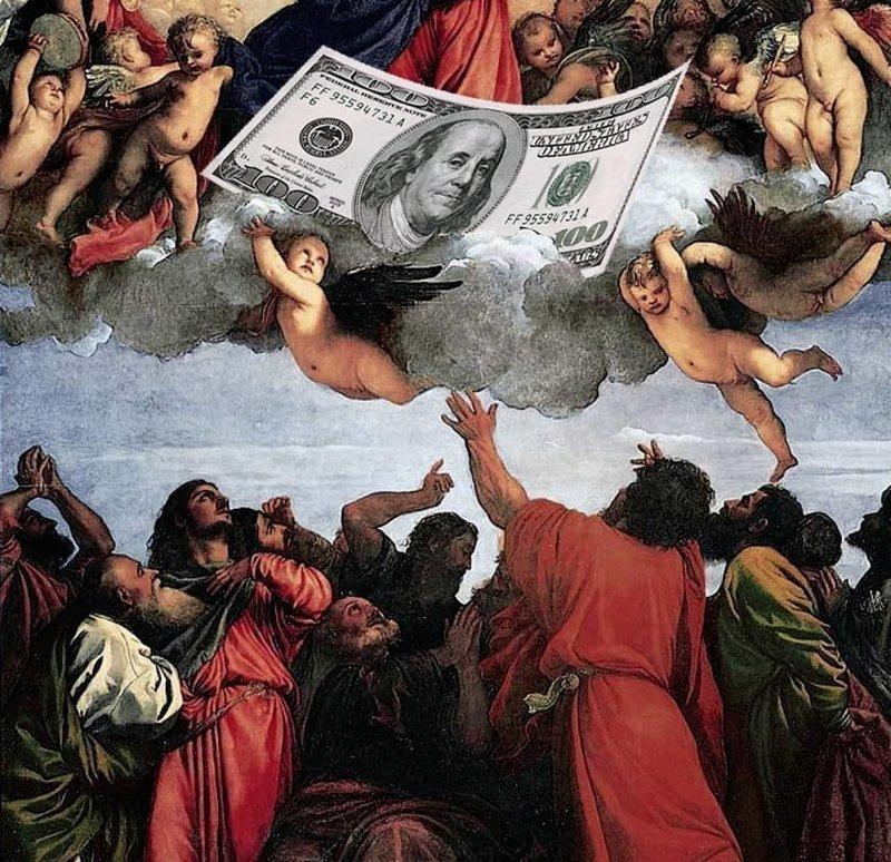 Миксы знаменитых произведений искусства с культурой нашего времени