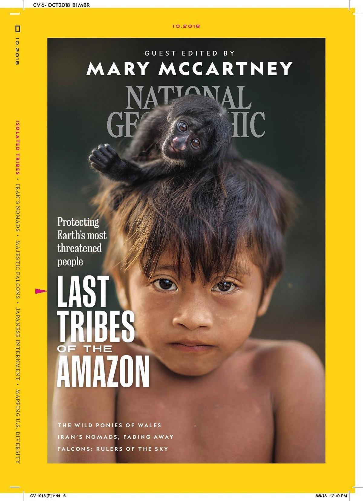 Представители самого исчезающего племени в мире
