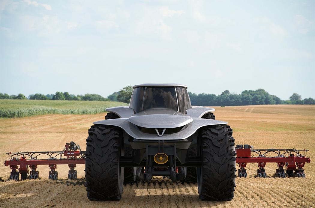Самоходный трактор на водороде может стать будущим сельского хозяйства