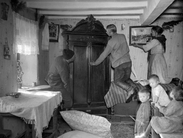 Интересные исторические кадры из прошлого