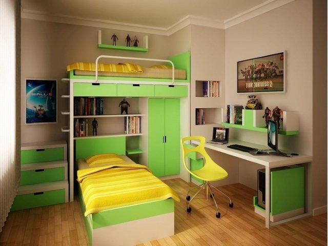 Интересный дизайн детских комнат