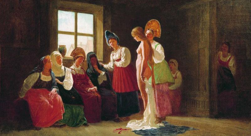 Правила супружеской жизни на Руси
