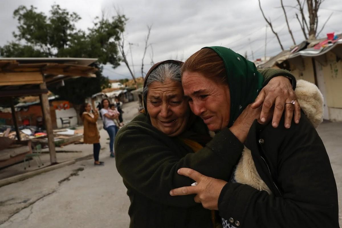 В Мадриде снесли поселение цыган