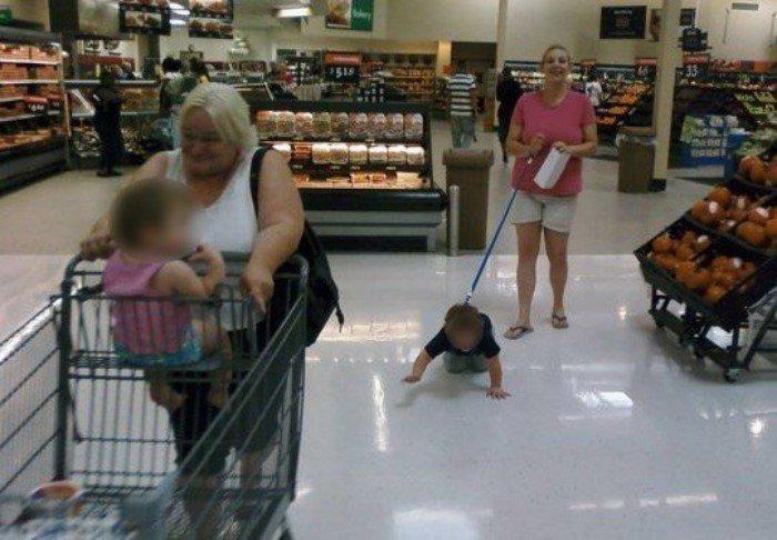 Дети, которых не стоит брать с собой в магазин