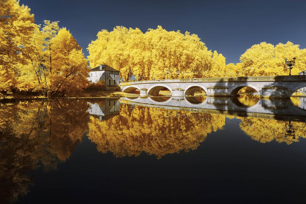 Красота Франции в инфракрасном свете от Пьера-Луи Феррера
