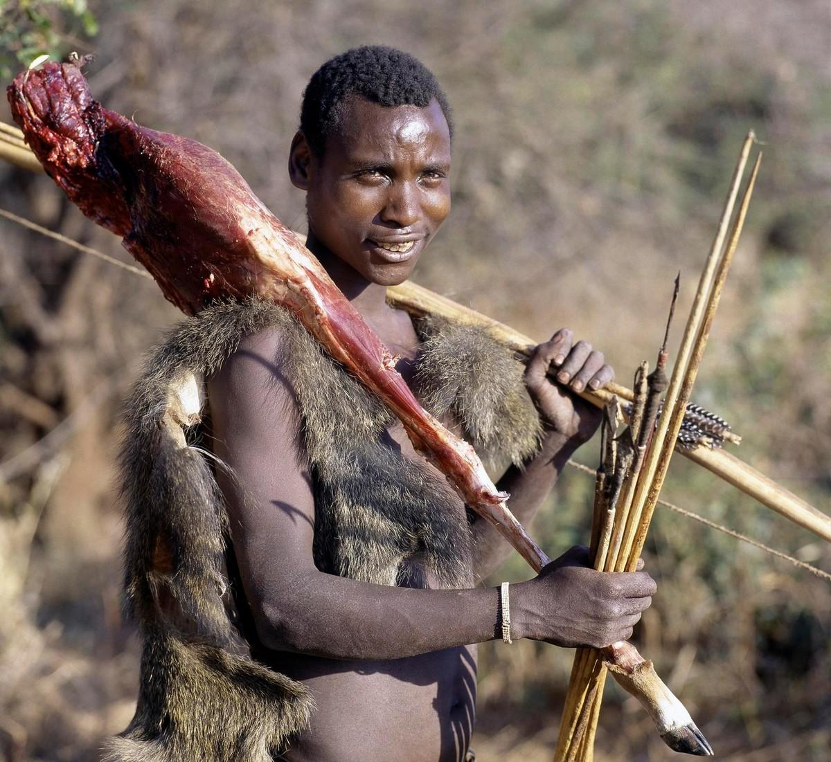 Исчезающее племя Хадза из Танзании