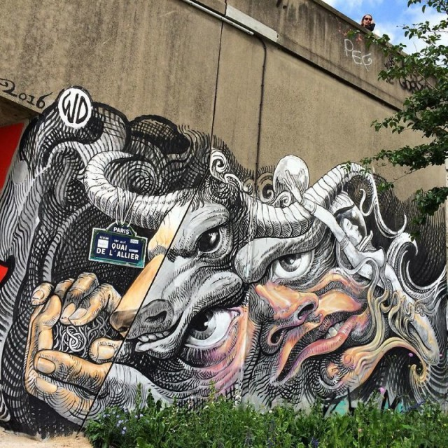 Реалистичные граффити от художника из Индонезии