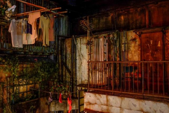 Криминальный район Гонконга воссоздали в Японии