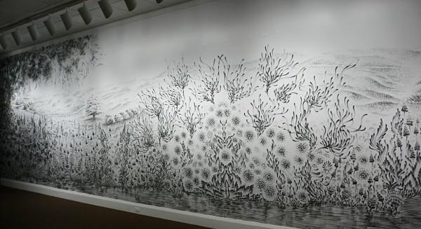 Рисунки пальцами при помощи угольной пыли от Джудит Браун