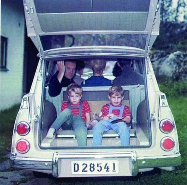Универсалы 60-х годов, в которые умещалась семья и кухня