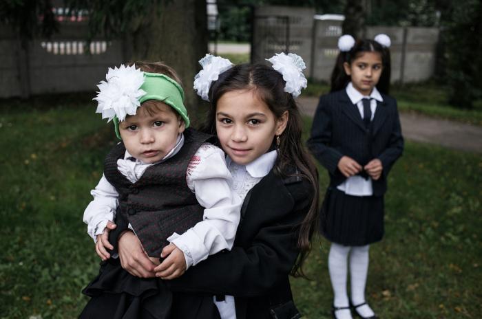 Чему учились цыганские дети в СССР