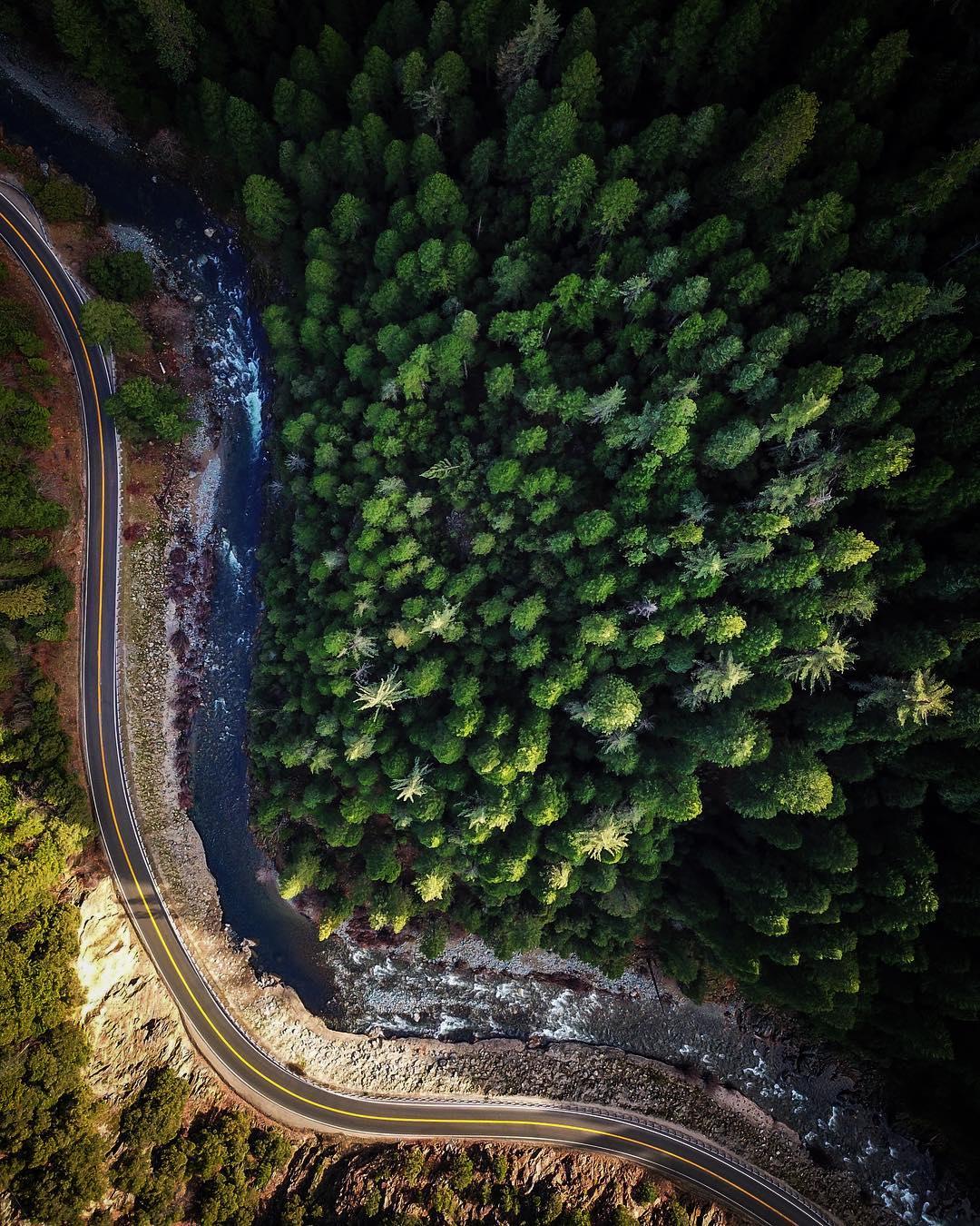 Калифорния на аэрофотоснимках Росса Мартина