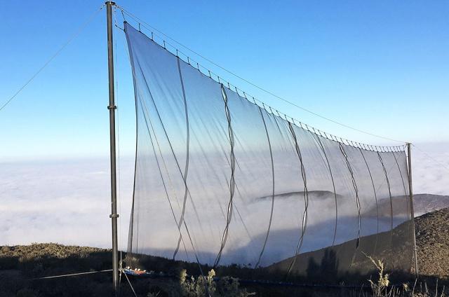 Странная сеть в горах и для чего она нужна