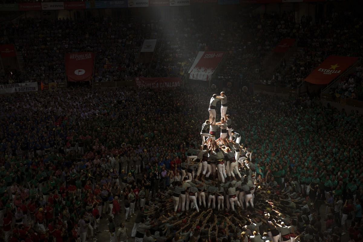 Кастельерс - человеческие башни Каталонии