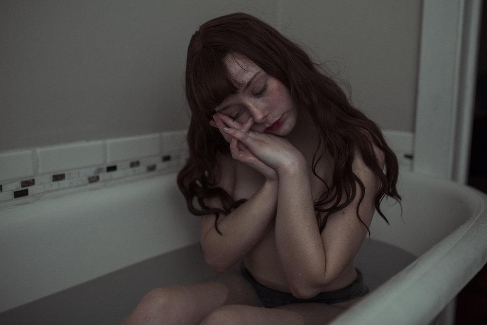 Чувственные портреты девушек от Аманды Уокер