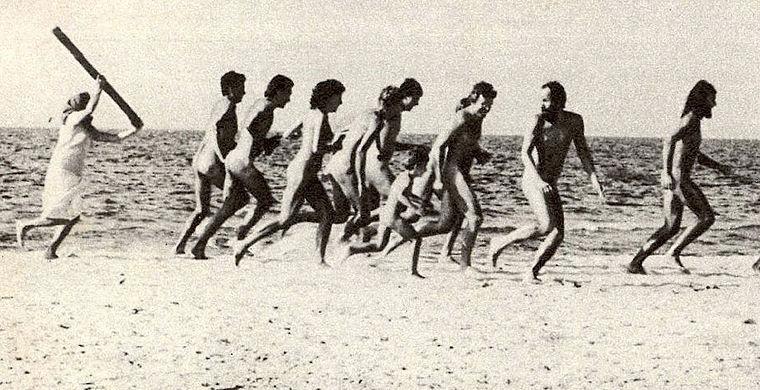Культ нагого тела в России начала XX века