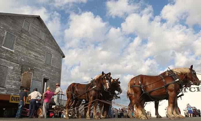 Как переезжали с помощью лошадей в прошлом